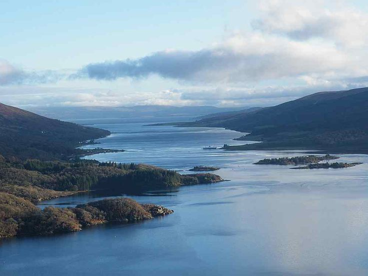 Isle of Bute and Burnt Islands seen from the Tighnabruaich Viewpoint