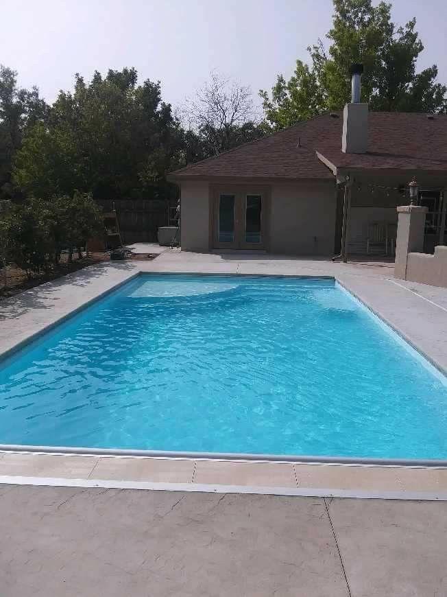 Pin By San Juan Pools On Great Lakes By San Juan Fiberglass Inground Pools Beach Entry Pool Inground Fiberglass Pools Fiberglass Pools