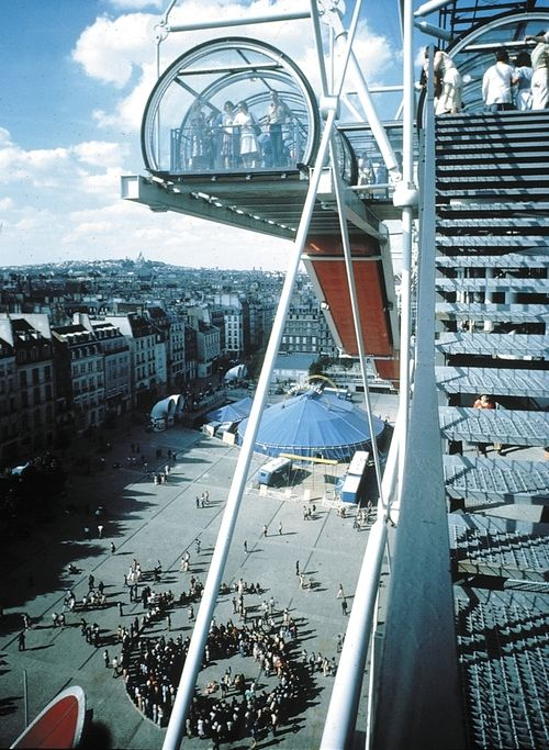 Centre Georges Pompidou, Paris, France, 1977 — Renzo Piano and Richard Rogers