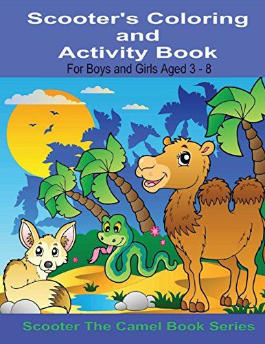 Scooter's Coloring and Activity Book For Boys and Girls A…