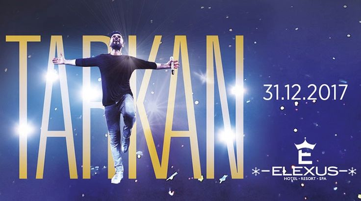 Tarkan Kıbrıs'ta! Elexus Otelde Kıbrıs Yılbaşı Etkinliğinde sizlerle Olacak! #Tarkan #Kıbrıs #Konser