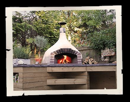 Home wood fired pizza ovens