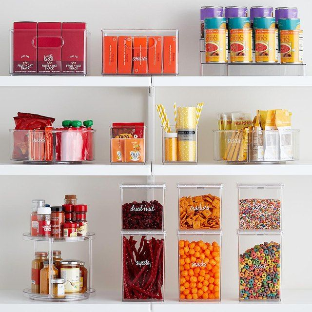 Celebrity Chef And Cookbook Author Chrissy Teigen Just Got A Major Pantry Makeover Thanks To Profes Container Store The Home Edit Container Store Organization