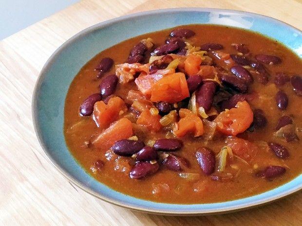 Curry de haricots rouges : http://www.lagrignoteuse.com/2015/08/26/27/