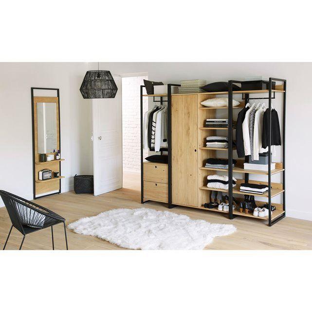 17 meilleures id es propos de meubles de chambre for Dressing but avec porte