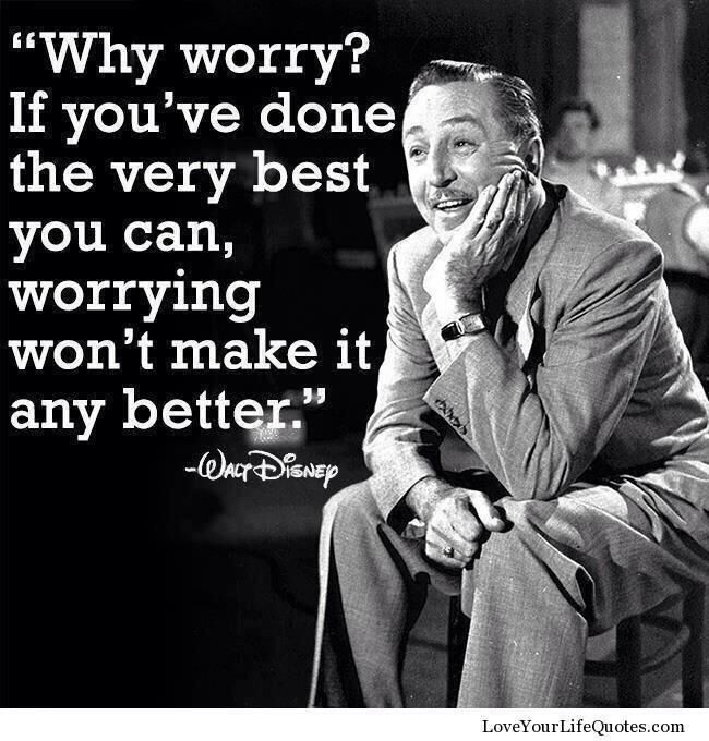 Disney. He knows what he is talking about <3 A
