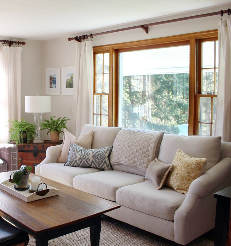 Elevate your space with upgraded curtain rods http://www.indigoandhoney.com/elevate-space-upgraded-curtain-rods/