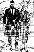 Folkwear Pattern #152 Kilt, Vest, and Prince Charlie Jacket