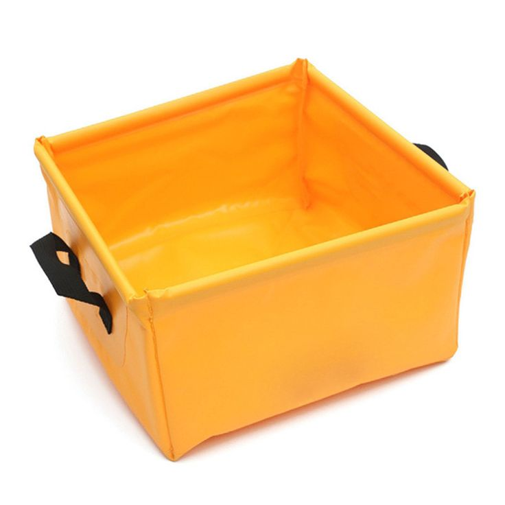 15L Multifunctional Square Basin for Outdoor, Travel & Camping Equipment