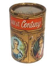 """Antique Beauties of the 18th Century Wooden Match Box Cameo Graphics - Italy ]Antichi Bellezze del 18 ° secolo in legno Box Partita Cameo Graphics - Italia 1 3/4 """"alto Scatole di Fiammiferi"""