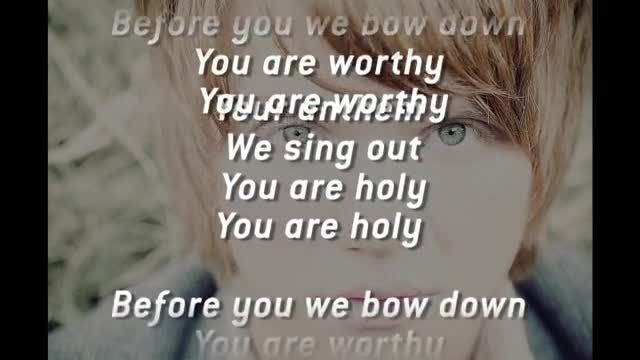 Aaron Gillespie - Anthem Song (Slideshow with Lyrics) - Music Videos