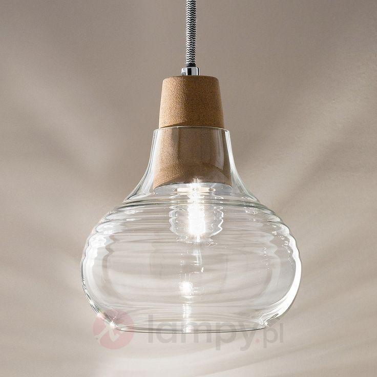 Liri - lampa wisząca z korkiem 3502501