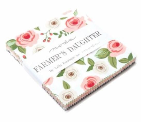PREORDER Farmers Daughter Moda Charm Pack  #spreadthelove #newstuff #ruler #quilting