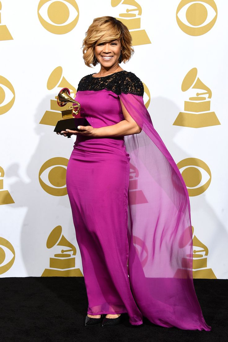 2015 Grammy Awards - Erica Campbell - Gallery - Style.com