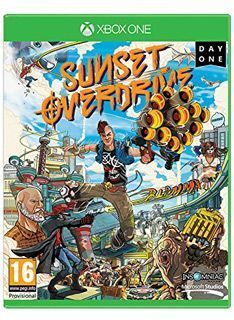 Microsoft Sunset Overdrive on Xbox One Day One Edition includes the following exclusive items: Nothin but the Hits gun: An overcharged version of the High Fidelity gun that launches limited edition priceless multi-colored vinyls that do  http://www.MightGet.com/february-2017-1/microsoft-sunset-overdrive-on-xbox-one.asp