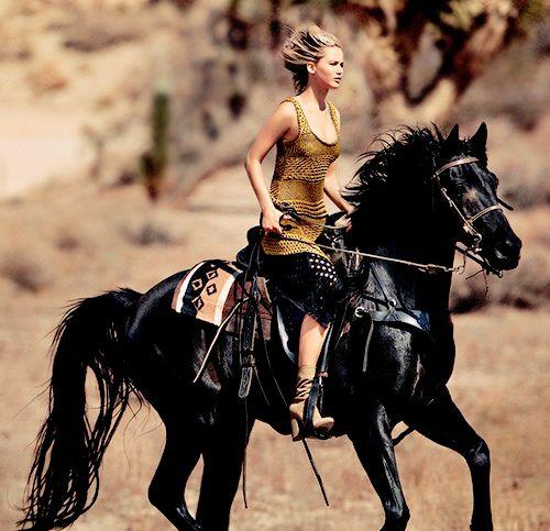 Jennifer Lawrence photographed by Mikael Jansson for VOGUE US (December 2015)