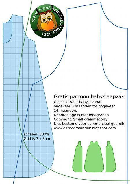Free Pattern Baby sleepingbag (in dutch) Website full of nice DIY baby- and kiddy stuff