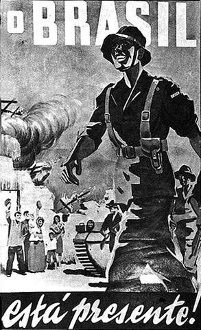 Brazilian Poster World War II