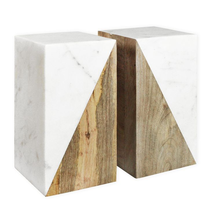 Madras Link Como Marble Bookends