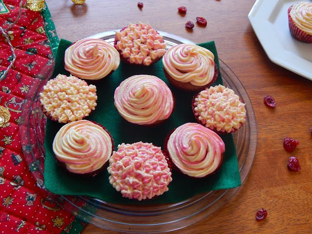 Chantell Clark: Cranberry and Chocolate Orange Cupcakes