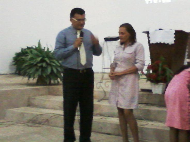 Profissão de fé com Pastor Fabio Lazaro. 20/10/2013.