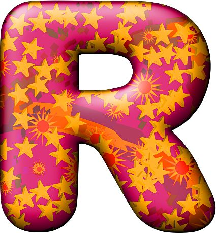 Presentation alphabets party balloon warm letter r for Letter balloons denver