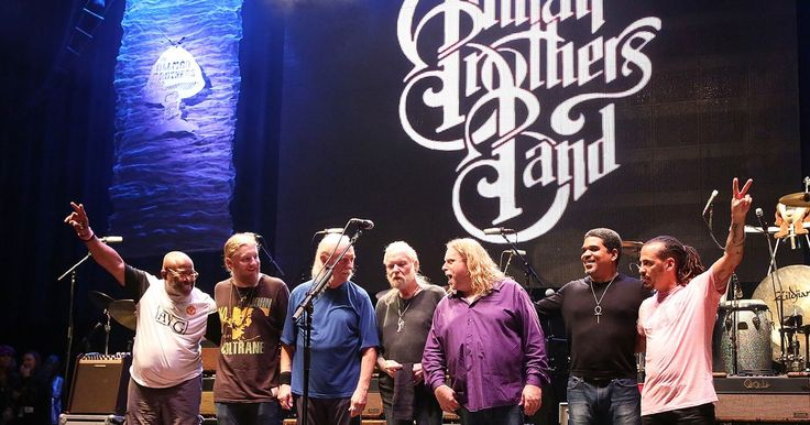 """Allman Brothers Band wrapped up their 2014 farewell concert with a cover of the Muddy Waters classic """"Trouble No More""""  at New York's Beacon Theater."""