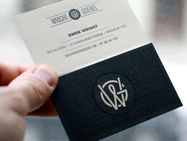 10 best business cards images on pinterest card designs card wright goebel business card design inspiration card nerd reheart Images