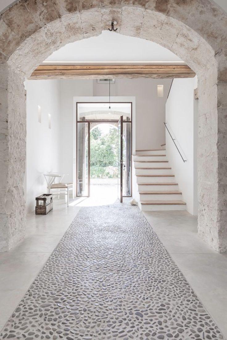 suelo de piedra natural