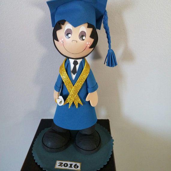 Muñeca fofucha de graduación por FofuchaDolls en Etsy
