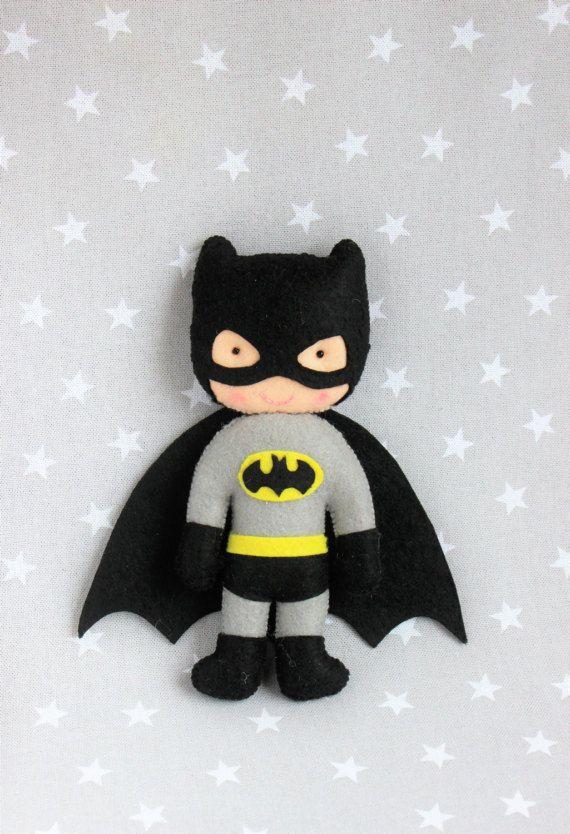 Máscara y muñeco Batman careta batman juguetes niños por Pittitus
