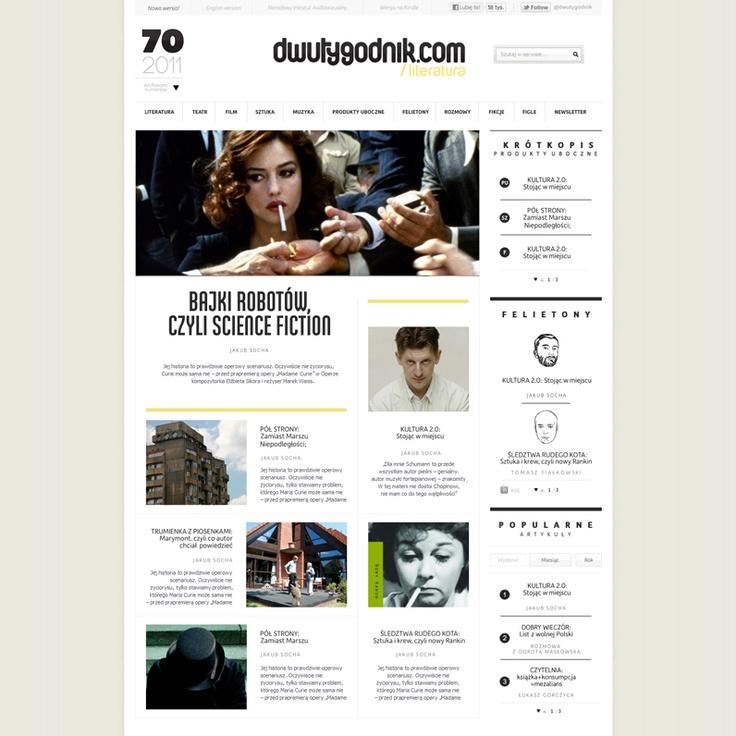Dwutygodnik by EstraturaWebdesign