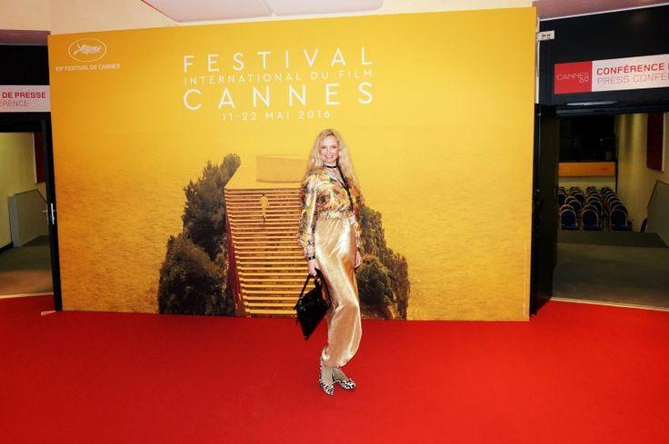 Файл:69 Каннский кинофестиваль, Елена Хлибко.jpg