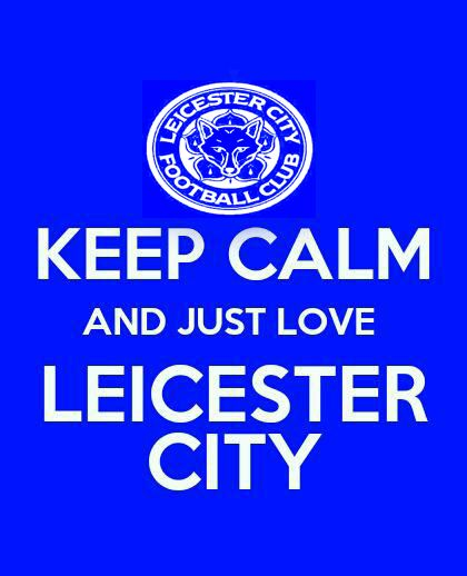 Yessss!! That's Leicester City!