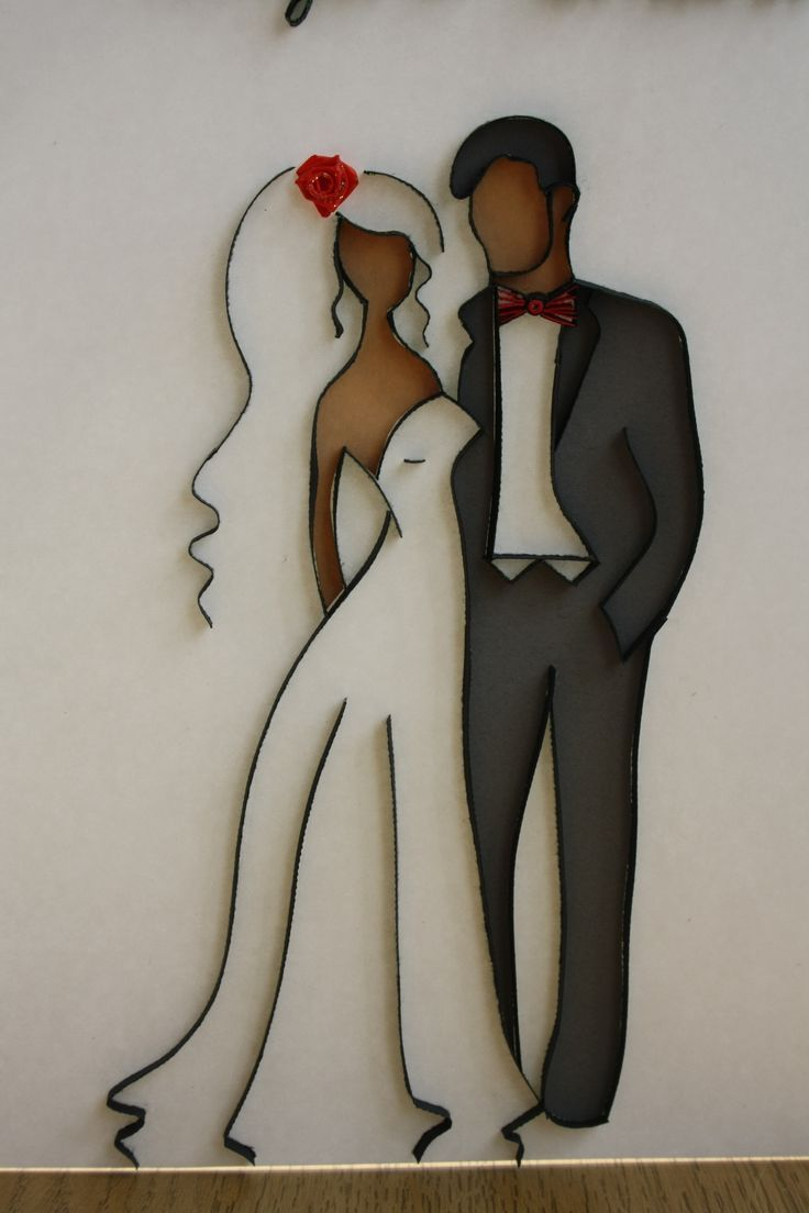 couple quilling