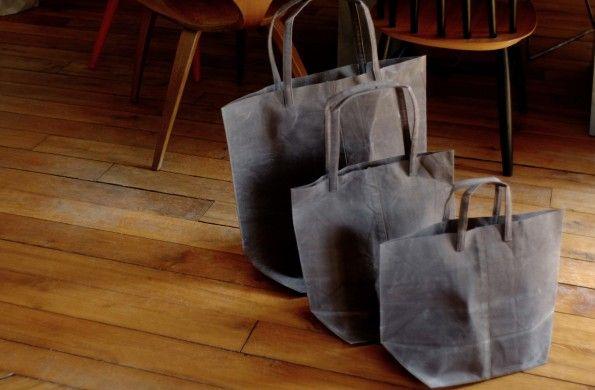 NEW! Teko bag  https://www.shopu.fr/en/95-sac-teko.html  Grey canvas bag