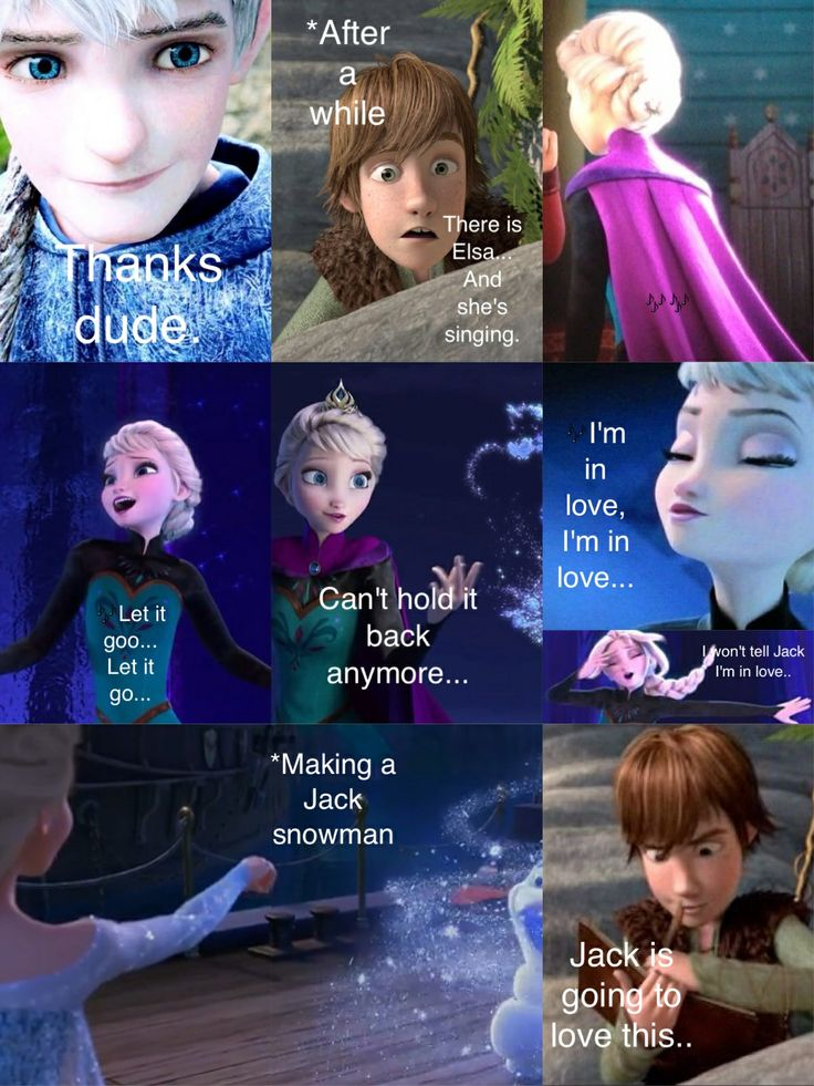Part 5, the following. Elsa and Jack