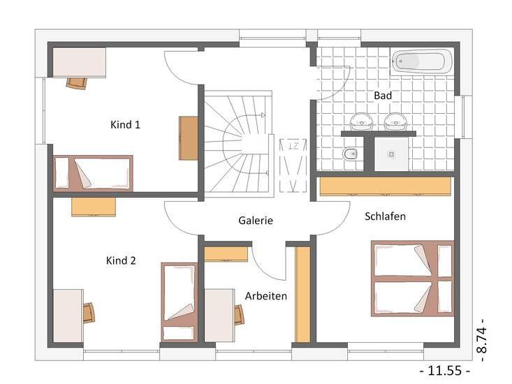 Hausbeispiele grundrisse  17 besten Hausbeispiele von CAL CLASSIC Haus Bilder auf Pinterest ...