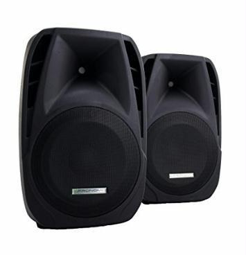 Gibts HIER http://amzn.to/2hfE45r 2x Pronomic PH15 Bühnen- und Konzertlautsprecher PA passiv Lautsprecher