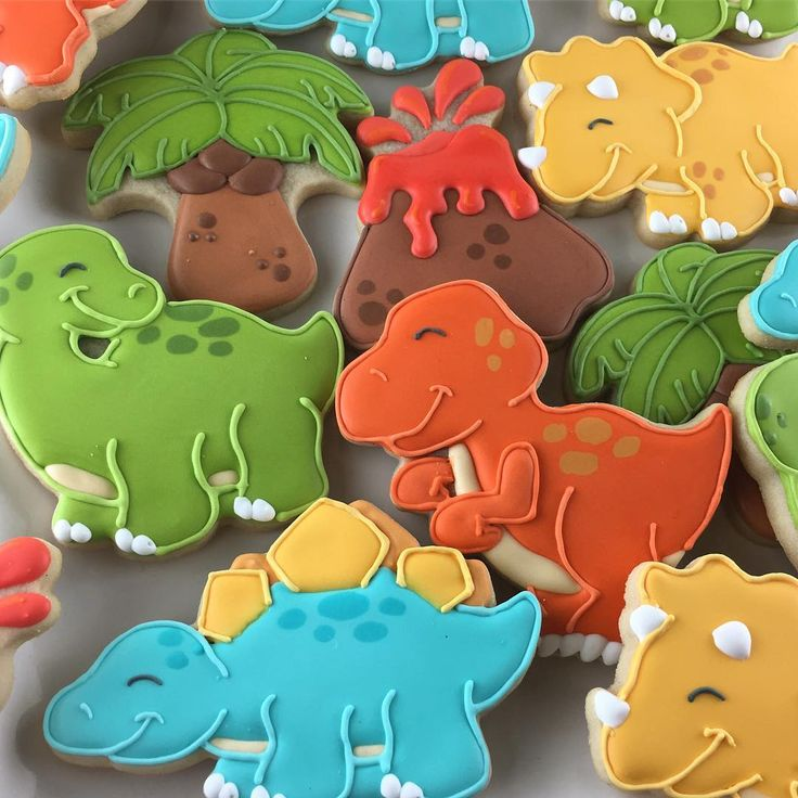 Best 25 Dinosaur Cookies Ideas On Pinterest Dinasour