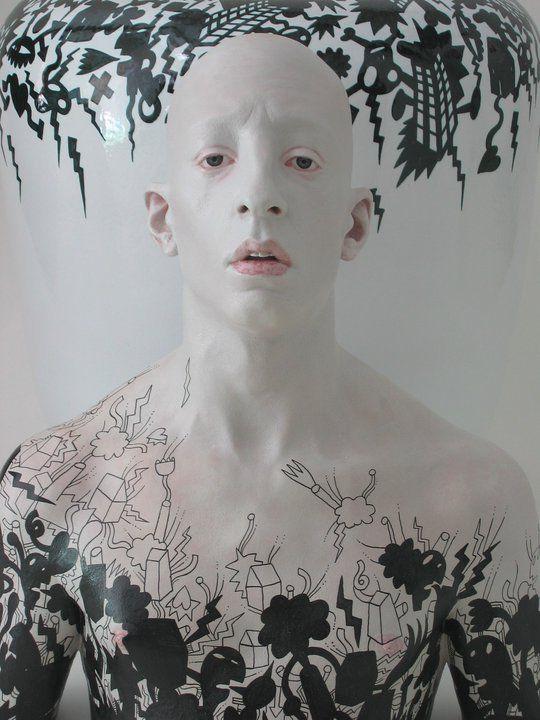 Fausto Salvi Ceramic sculpture                              …