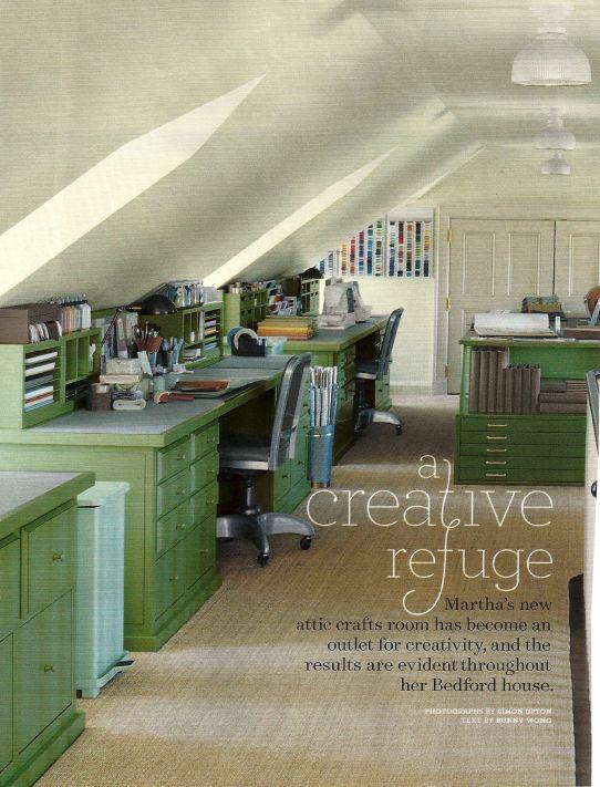Craft room or homework space