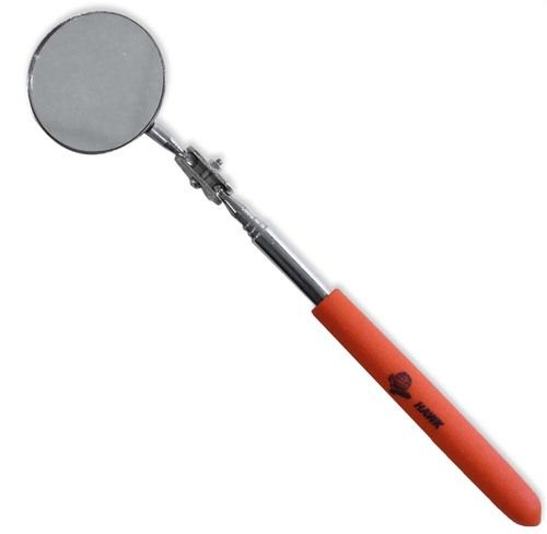 2 Diameter Inspection Mirror On An Adjustable Swivel With A 6.5 Rod That Extends To 24 : ( Pack of 1 Pc )