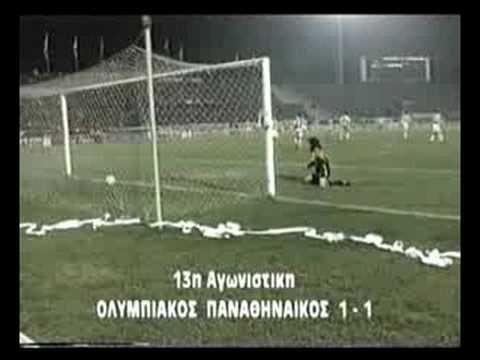 Olympiakos - Panathinaikos 1-1 (Warzycha) (1994/1995)