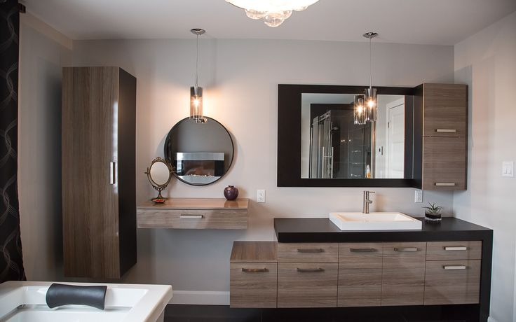 17 beste idee n over vanit salle de bain op pinterest - Vanite salle de bain contemporaine ...