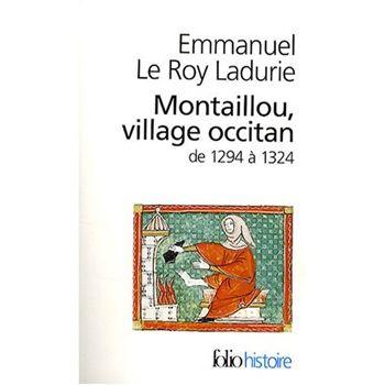 Montaillou, village Occitian de Emmanuel Le Roy Ladurie,  Haute Ariège, 1320. Montaillou, petit village montagnard, est le dernier bastion de résistance des derniers Cathares. Plus pour longtemps, car l'impitoyable évêque de Pamiers Jacques Fournier, qui deviendra plus tard pape en Avignon sous le nom de Benoit XII, assiste les inquisiteurs en interrogeant un à un tous les villageois raflés, les poussant à dévoiler de nombreux détails de leur vie quotidienne afin de détecter en eux…