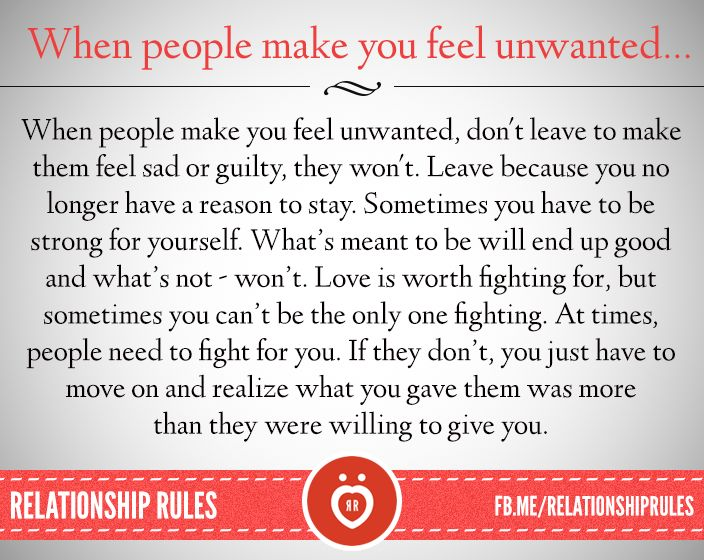 You Re Right People Do Lie And Cheat And Stab You In: When People Make You Feel Unwanted..