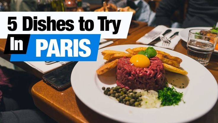 French Food Tour - 5 Dishes to Try in Paris, France! (Americans Try Fren...