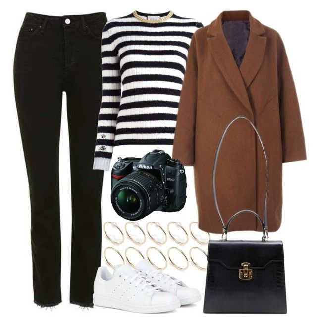 """""""Untitled #5830"""" by rachellouisewilliamson ❤ liked on Polyvore featuring Topshop, Gucci, ASOS, adidas and Nikon"""