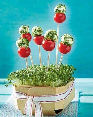 Tomate-Mozzarella-Lollis, LECKER.de